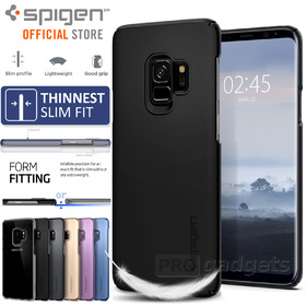 Galaxy S9 Case, Genuine SPIGEN Ultra Thin Fit Exact-Fit Slim Cover for Samsung