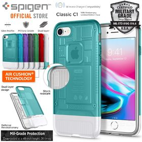 iPhone 8 / 7 Case, Genuine SPIGEN Dual Layer Air Cushion Classic C1 Cover for Apple