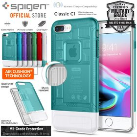 iPhone 8 Plus / 7 Plus Case, Genuine SPIGEN Dual Layer Air Cushion Classic C1 Cover