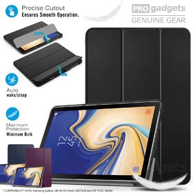 Samsung Galaxy Tab S4 10.5 Case, Genuine MoKo Ultra Slim Wake/Sleep Stand Cover