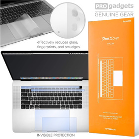 "Genuine UPPERCASE GhostCover Touch Bar Track Pad Protector Macbook Pro 15"" 2016+"