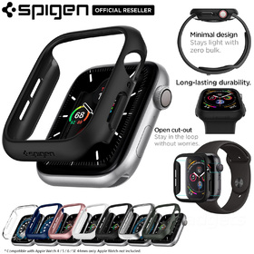 Apple Watch Series 6/5/4/SE Case, Genuine SPIGEN Ultra Thin Fit Hard Cover for 44mm