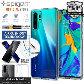 Huawei P30 Pro Case, Genuine SPIGEN Ultra Hybrid Air Cushion Cover for Huawei