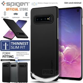 Galaxy S10 Case, Genuine SPIGEN Ultra Thin Fit Exact Slim Cover for Samsung