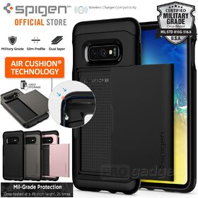 Galaxy S10e Case,Genuine SPIGEN Slim Armor CS Card Slider Holder for Samsung