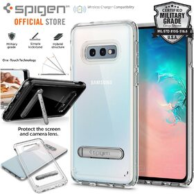 Galaxy S10e Case, Genuine SPIGEN Ultra Hybrid S Kick-stand Cover for Samsung