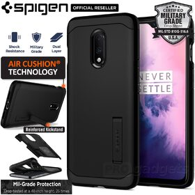 OnePlus 7 Case, Genuine SPIGEN Heavy Duty Tough Armor Hard Cover for OnePlus