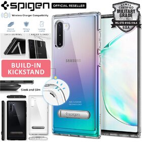 Galaxy Note 10 Case, Genuine SPIGEN Ultra Hybrid S Kickstand Cover for Samsung