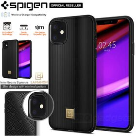 iPhone 11 Case, Genuine SPIGEN La Manon Classy Chic Design Soft Cover for Apple
