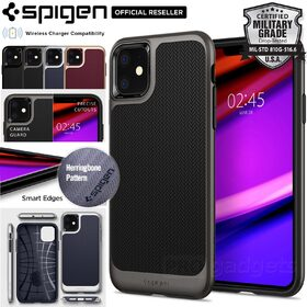 iPhone 11 Case, Genuine SPIGEN Dual Layer Neo Hybrid Premium Bumper TPU Cover for Apple