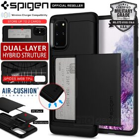 Galaxy S20 Plus Case, Genuine SPIGEN Slim Armor CS Card Slider Holder Cover for Samsung