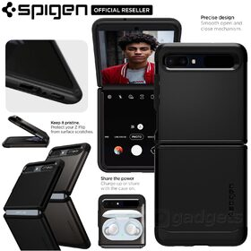 Genuine SPIGEN Tough Armor Heavy Duty Hard Cover for Samsung Galaxy Z Flip Case