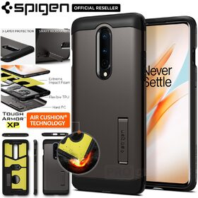 Genuine SPIGEN Heavy Duty Tough Armor Kickstand Hard Cover for OnePlus 8 Case