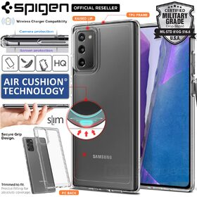Genuine SPIGEN Crystal Hybrid Ultra Tough Bumper Cover for Samsung Galaxy Note 20 Case