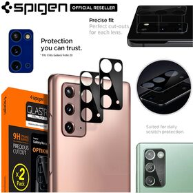 Genuine SPIGEN GLAS.tR Optik Slim Tempered Glass 2Pcs for Samsung Galaxy Note 20 Camera Lens Protector