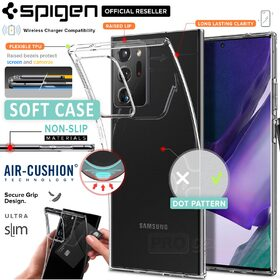 Genuine SPIGEN Crystal Flex Ultra Slim TPU Soft Cover for Samsung Galaxy Note 20 Ultra Case