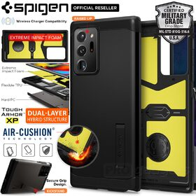 Genuine SPIGEN Tough Armor Impact Shock Proof Kickstand Hard Cover for Samsung Galaxy Note 20 Ultra Case