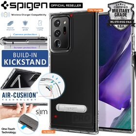 Genuine SPIGEN Ultra Hybrid S Kickstand Bumper Cover for Samsung Galaxy Note 20 Ultra Case
