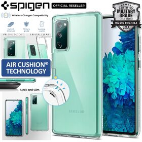 Genuine SPIGEN Crystal Hybrid Clear Hard Cover for Samsung Galaxy S20 FE / 5G Case