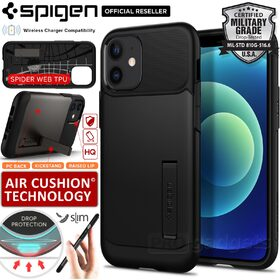 Genuine SPIGEN Slim Armor Heavy Duty Hard Cover for Apple iPhone 12 mini (5.4-inch) Case