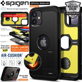 Genuine SPIGEN Tough Armor Impact Shock Proof Kickstand Hard Cover for Apple iPhone 12 mini (5.4-inch) Case