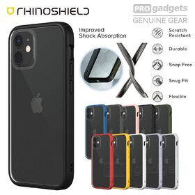 Genuine RHINOSHIELD Mod NX Tough Hard Bumper Cover for Apple iPhone 12 mini (5.4-inch) Case