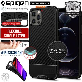 Genuine SPIGEN Core Armor Sleek Protection TPU Soft Cover for Apple iPhone 12 Pro Max (6.7-inch) Case