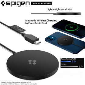 SPIGEN ArcField PF2009 Magnetic MagSafe Wireless Charger for iPhone 12 Series