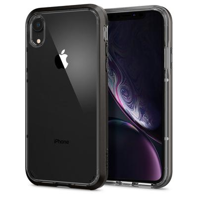 iPhone XR Case, Genuine SPIGEN Neo Hybrid Crystal Bumper Cover for Apple [Colour:Gunmetal]