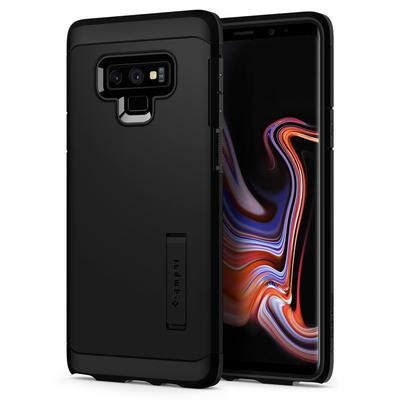 Galaxy Note 9 Case, Genuine SPIGEN Heavy Duty Tough Armor Hard Cover for Samsung [Colour:Black]