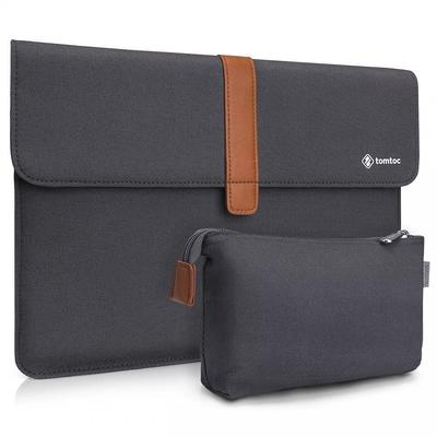 "Genuine tomtoc Envelope Sleeve Case Accessory for MacBook Pro Air 13 - 13.3""2018 [Colour:Dark Grey]"