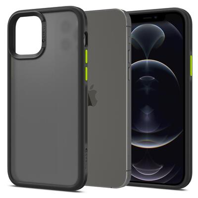Genuine SPIGEN Ciel by CYRILL Color Brick Bumper Cover for Apple iPhone 12 / iPhone 12 Pro (6.1-inch) Case [Colour:Black]