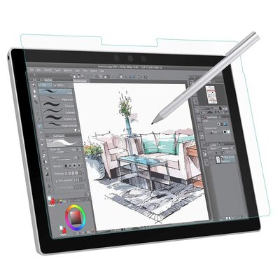 Moko Paperlike Screen Protector for Surface Pro 7 Plus / 7 / 6 / 5 / 4 (12.3-inch) [Colour:Clear]