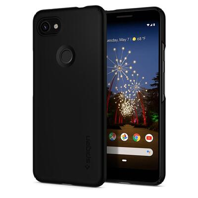 Google Pixel 3a Case, Genuine SPIGEN Ultra Exact Thin Fit Slim Cover for Google [Colour:Black]